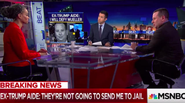 Sam Nunberg Says Wise MSNBC Analyst Convinced Him Not To Defy Mueller Subpoena