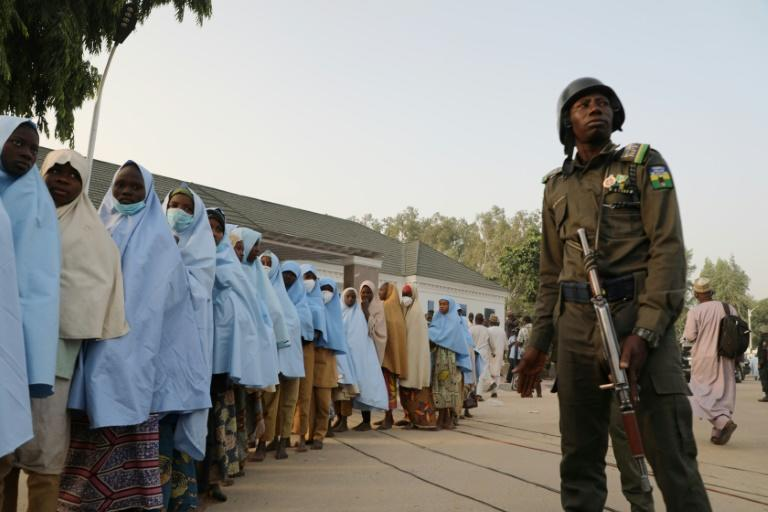 Shooting broke out at a handover ceremony after the kidnapped girls were returned to their village of Jangebe