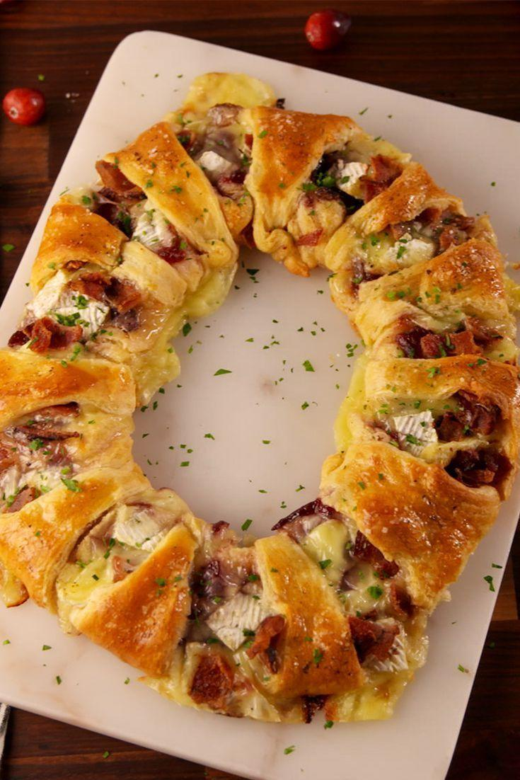 "<p>The star of the show.</p><p>Get the recipe from <a href=""https://www.delish.com/cooking/recipe-ideas/recipes/a56773/bacon-brie-crescent-wreath-recipe/"" rel=""nofollow noopener"" target=""_blank"" data-ylk=""slk:Delish"" class=""link rapid-noclick-resp"">Delish</a>.</p>"