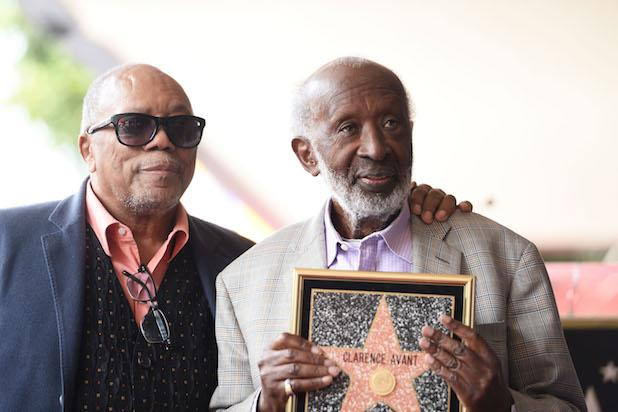 Clarence Avant Honored With Star On The Hollywood Walk Of Fame