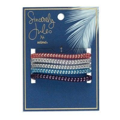 """<h3>Sincerely Jules by Scünci Spirals</h3> <br>When you need a tight hold for your braids or high pony, one of these plastic-coated spiral elastics will give you a secure grip without denting your hair.<br><br><strong>Sincerely Jules by Scunci.</strong> Sincerely Jules by Scunci Spirals - 5ct, $, available at <a href=""""https://go.skimresources.com/?id=30283X879131&url=https%3A%2F%2Fwww.target.com%2Fp%2Fsincerely-jules-by-scunci-spirals-5ct%2F-%2FA-79438135%23locklink"""" rel=""""nofollow noopener"""" target=""""_blank"""" data-ylk=""""slk:Target"""" class=""""link rapid-noclick-resp"""">Target</a><br>"""
