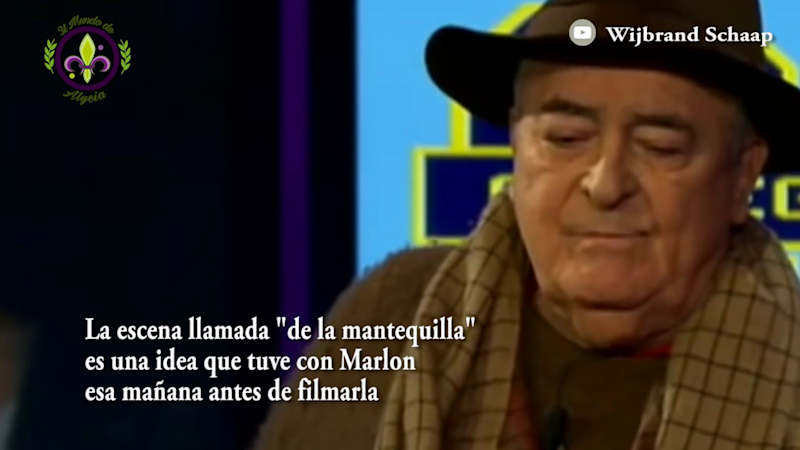 The video of Bertolucci confessing was uploaded to YouTube by El Mundo De Alycia - Credit: YouTube