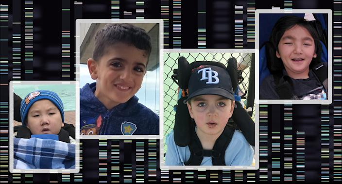 Alex Cheung, Eli Kadkhoda, Caleb MacKay and Leo Enoue. (Photos: courtesy of the families)
