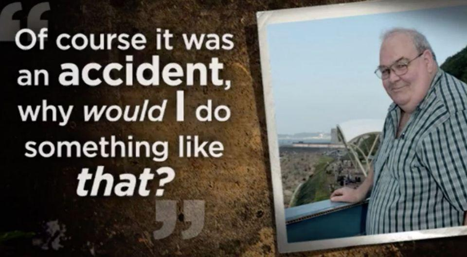 At the time, Dansie protested his innocence. Graphic: 7 News