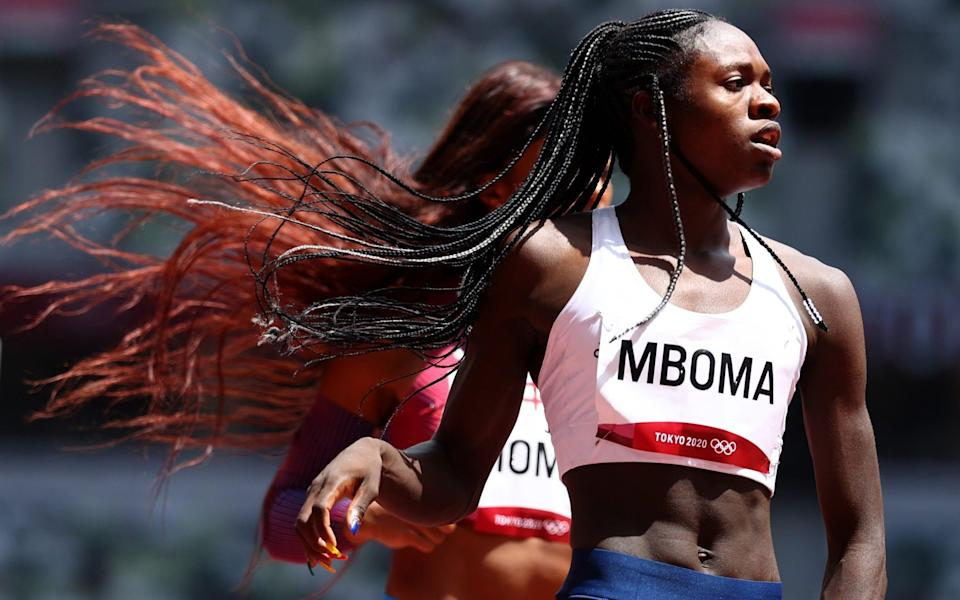 Namibian teenager Christine Mboma ran the second fastest 400m time in the world this year, before subsequent tests ruled her out of her preferred event - LUCY NICHOLSON