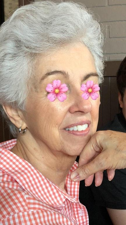This 78-year-old grandmother may have just revealed the ultimate secret to youthful skin. (Photo: Reddit)
