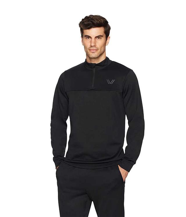 "<p>Peak Velocity Men's Quantum Fleece 1/4 Zip Athletic-Fit Top in Black, $29 + up to 50% off, <a href=""https://www.amazon.com/Peak-Velocity-Quantum-Fleece-Athletic-Fit/dp/B072N6QY3M/ref=sr_1_1?s=apparel&ie=UTF8&qid=1531258575&sr=8-1&keywords=%E2%80%A2%09Peak+Velocity+Men%27s+Quantum+Fleece+1%2F4+Zip+Athletic-Fit+Top+in+Black&dpID=31cAt7gEWPL&preST=_SX342_QL70_&dpSrc=srch"" rel=""nofollow noopener"" target=""_blank"" data-ylk=""slk:amazon.com"" class=""link rapid-noclick-resp"">amazon.com</a> </p>"