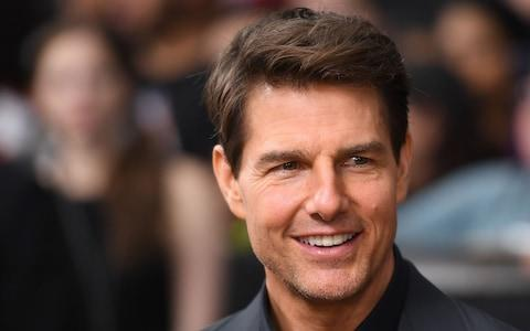 The daughter of Tom Cruise may, like her father, have joined the church of Scientology - Credit: ANGELA WEISS /AFP