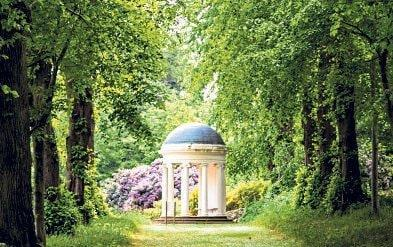 Take a walk through the shadowy glens and fern forests of Hillsborough Castle and you'll find Lady Alice's Temple - Richard Lea-Hair
