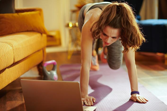 Our living rooms have become our fitness studios.