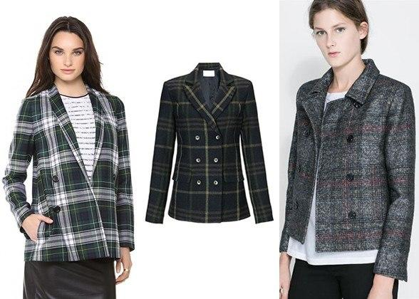 """<div class=""""caption-credit""""> Photo by: Courtesy of Retailers</div><div class=""""caption-title""""></div><b>2. A Tartan Blazer</b> <br> Whether it's styled in a grunge-y, preppy or Annie Hall-esque way, I promise a plaid jacket will make all fall outfits better. <i>Relaxed Blazer, $795, Suno, shopbop.com; Green Plaid Double Breasted Blazer, $205, Thakoon Addition, avenue32.com; DOUBLE BREASTED CHECKED BLAZER, $119, zara.com <br></i> <b>More from <i>Lucky</i>:</b> <br> <b><a rel=""""nofollow"""" target="""""""" href=""""http://www.luckymag.com/beauty/2011/12/40-Drugstore-Classics?mbid=synd_yshine"""">The 40 Best Drugstore Beauty Products</a> <br> <a rel=""""nofollow"""" target="""""""" href=""""http://www.luckymag.com/blogs/luckyrightnow/2012/09/50-Unique-Engagement-Rings?mbid=synd_yshine"""">50 Unique Engagement Rings</a></b> <br>"""