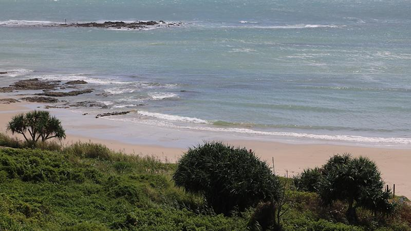 Pictured is Wooli Beach near Coffs Harbour on the NSW coast.
