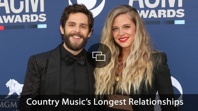 Thomas Rhett, Lauren Akins at arrivals for 54th Academy Of Country Music (ACM) Awards - Arrivals 2, MGM Grand Garden Arena, Las Vegas, NV April 7, 2019.