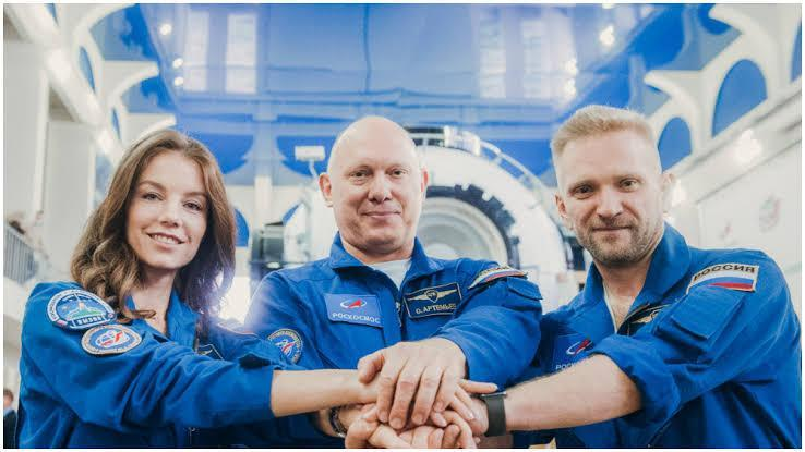 Russian film crew set to launch off to ISS to shoot the 1st movie in space