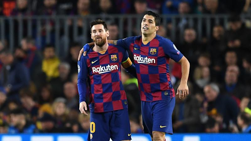 'Respect and admiration, Leo' - Puyol and Suarez pay tribute to Messi after he asks to leave Barcelona on free transfer