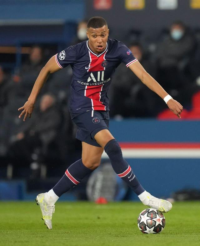 Mbappe has been heavily linked with Real Madrid
