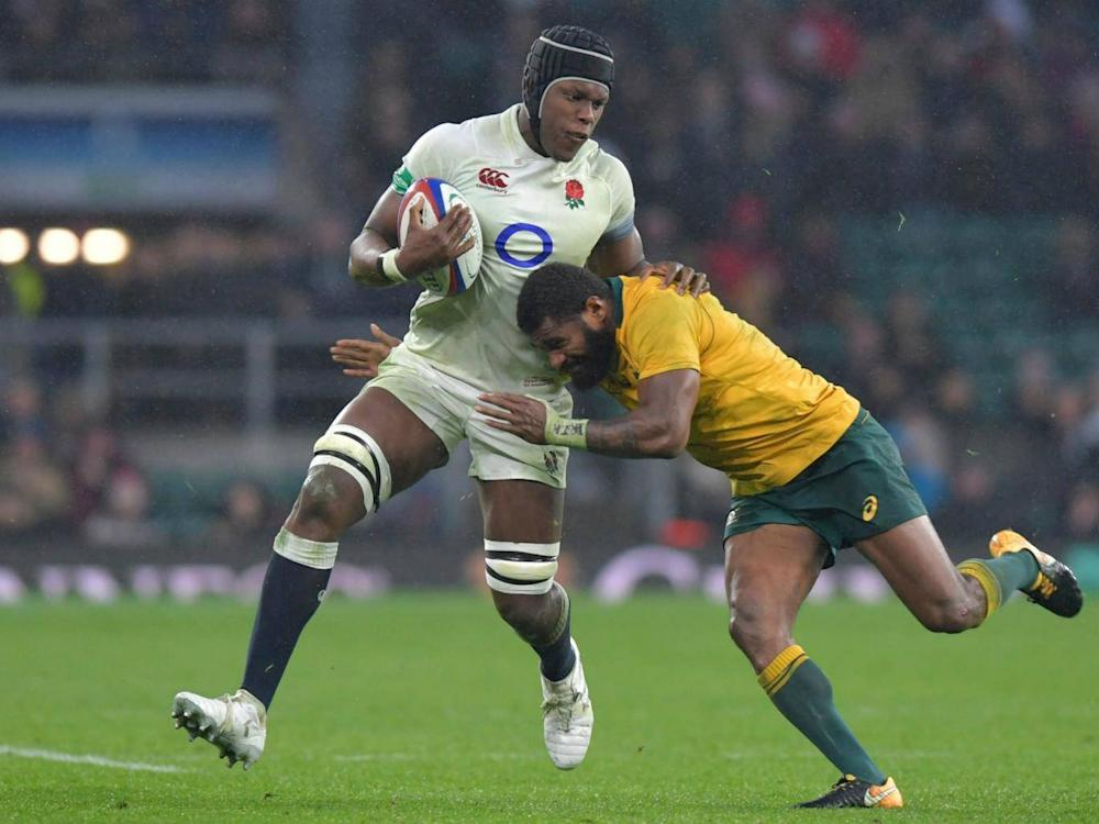 Itoje could miss the start of the Six Nations campaign in February (Getty)