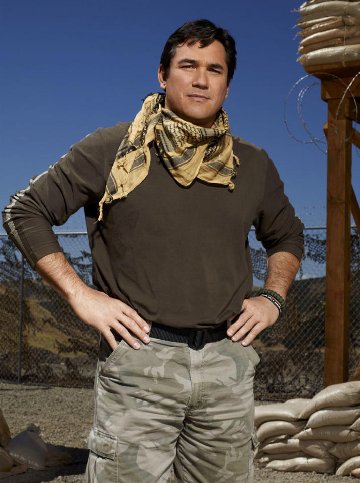 "Actor Dean Cain (""Out of Time,"" Five Days of War"") competes on NBC's ""Stars Earn Stripes."""