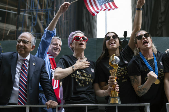 FIFA is 'studying' the impact of the Women's World Cup every two years. (AP Photo/Craig Ruttle, File)