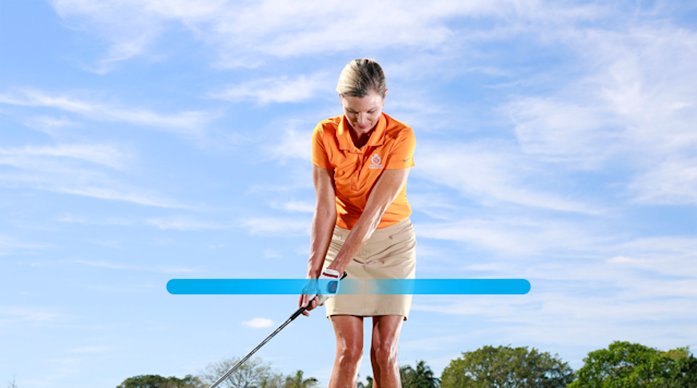 Your new chip backswing.