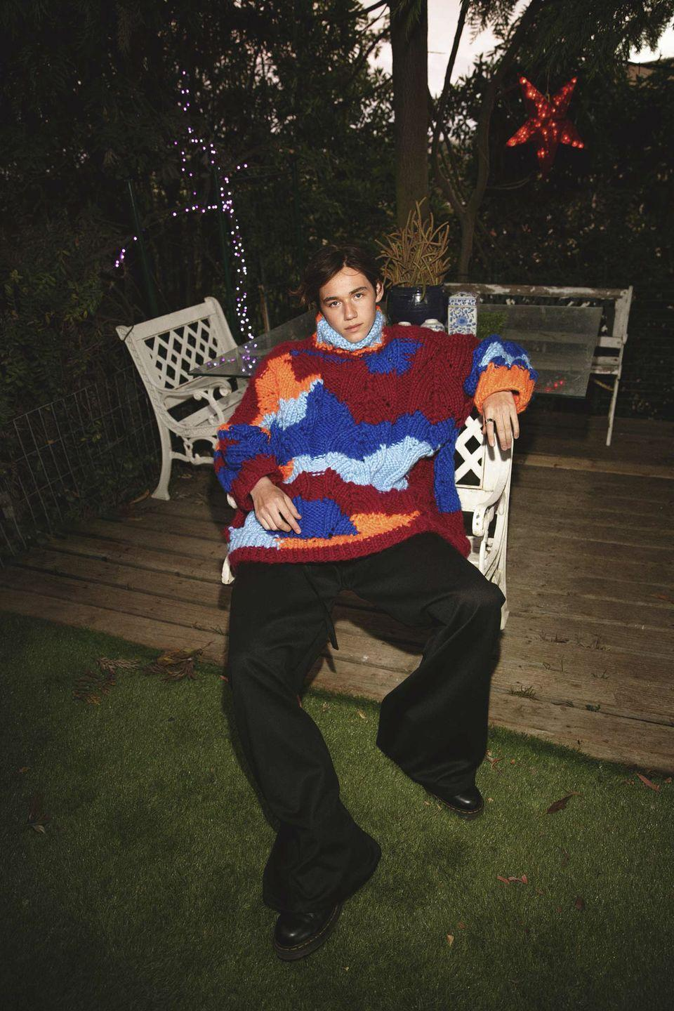 <p>Comfortwear genderless: look Lupe Gajardo <strong>Autunno Inverno 2021 2022</strong>.</p>