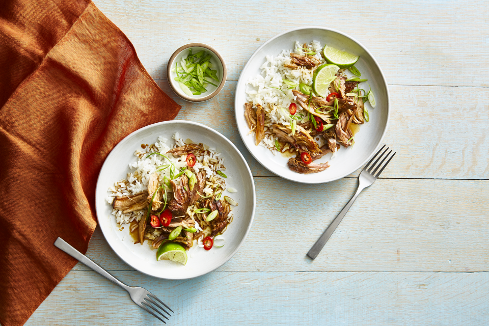 """<p>Getting bored of the same lunch salad every day? Instead of plowing through uninspired lunches for yet another week, try mixing up your midday meal routine. And who said a healthy lunch always needs to be a salad? These crazy delicious <a href=""""http://www.goodhousekeeping.com/food-recipes/healthy/g748/healthy-soup-stew-recipe/"""" rel=""""nofollow noopener"""" target=""""_blank"""" data-ylk=""""slk:soup"""" class=""""link rapid-noclick-resp"""">soup</a>, <a href=""""http://www.goodhousekeeping.com/food-recipes/healthy/g4081/healthy-sandwiches/"""" rel=""""nofollow noopener"""" target=""""_blank"""" data-ylk=""""slk:sandwich"""" class=""""link rapid-noclick-resp"""">sandwich</a>, and <a href=""""https://www.goodhousekeeping.com/food-recipes/healthy/g836/myplate-pasta-recipes/"""" rel=""""nofollow noopener"""" target=""""_blank"""" data-ylk=""""slk:pasta recipes"""" class=""""link rapid-noclick-resp"""">pasta recipes</a> are proof that diet-friendly lunches are much more than just a bed of greens. Not only are these lunches super easy, they're also <em>super</em> quick — you can throw them together in a few spare minutes in the morning, or set aside <a href=""""https://www.goodhousekeeping.com/food-recipes/a28377603/how-to-meal-prep/"""" rel=""""nofollow noopener"""" target=""""_blank"""" data-ylk=""""slk:a little bit of meal prep"""" class=""""link rapid-noclick-resp"""">a little bit of meal prep</a> time the night before. Either way, you'll start looking forward to getting to eat these healthy and easy lunch ideas.</p><p>The heartiest items on our lunch menus <a href=""""https://www.goodhousekeeping.com/health/diet-nutrition/g28567696/best-high-protein-low-carb-foods/?"""" rel=""""nofollow noopener"""" target=""""_blank"""" data-ylk=""""slk:are chock-full of lean protein"""" class=""""link rapid-noclick-resp"""">are chock-full of lean protein</a>, which can help you feel satisfied all the way up until dinner — think staples <a href=""""https://www.goodhousekeeping.com/health/diet-nutrition/g20706723/healthy-meats/"""" rel=""""nofollow noopener"""" target=""""_blank"""" data-ylk=""""slk:like chicken and salmon,"""" class=""""link rapi"""