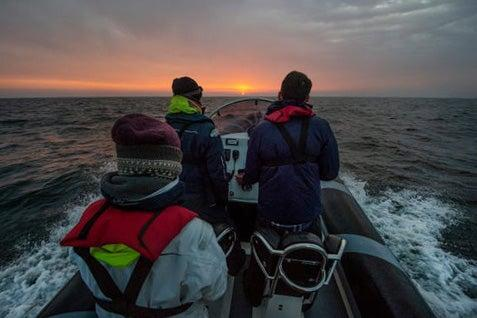 Channel Rescue volunteers head into the Channel (Danny Burrows)