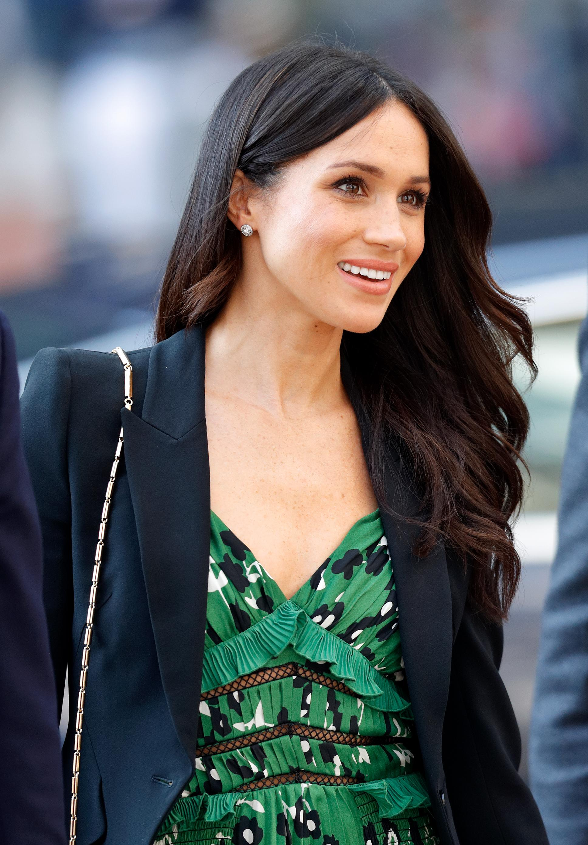The Only Color Meghan Markle Has Worn Since Becoming A Royal Figure Is Green