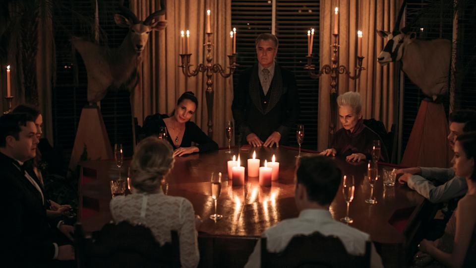 The Le Domas family play a murderous game in 'Ready or Not'. (Credit: Eric Zachanowich/20th Century Fox)