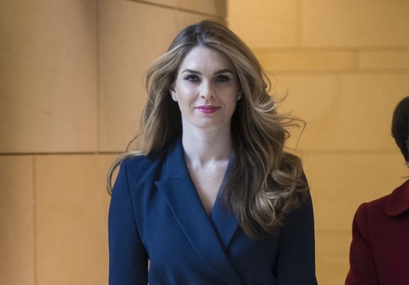 c18442b8d055 Former Trump aide Hope Hicks agrees to Judiciary interview