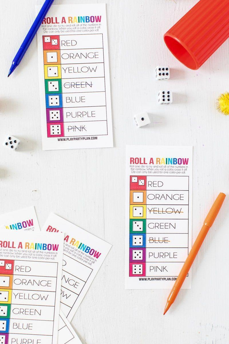 """<p>You just need dice and these printable game sheets to play for this activity that kids and adults will enjoy.</p><p><strong>Get the tutorial at <a href=""""https://www.playpartyplan.com/rainbow-printable-st-patricks-day-game/"""" rel=""""nofollow noopener"""" target=""""_blank"""" data-ylk=""""slk:Play Party Plan"""" class=""""link rapid-noclick-resp"""">Play Party Plan</a>.</strong></p><p><strong><a class=""""link rapid-noclick-resp"""" href=""""https://www.amazon.com/Printworks-Cardstock-Certified-Projects-00554/dp/B076BG8RRV/?tag=syn-yahoo-20&ascsubtag=%5Bartid%7C10050.g.26234489%5Bsrc%7Cyahoo-us"""" rel=""""nofollow noopener"""" target=""""_blank"""" data-ylk=""""slk:SHOP CARD STOCK"""">SHOP CARD STOCK</a><br></strong></p>"""