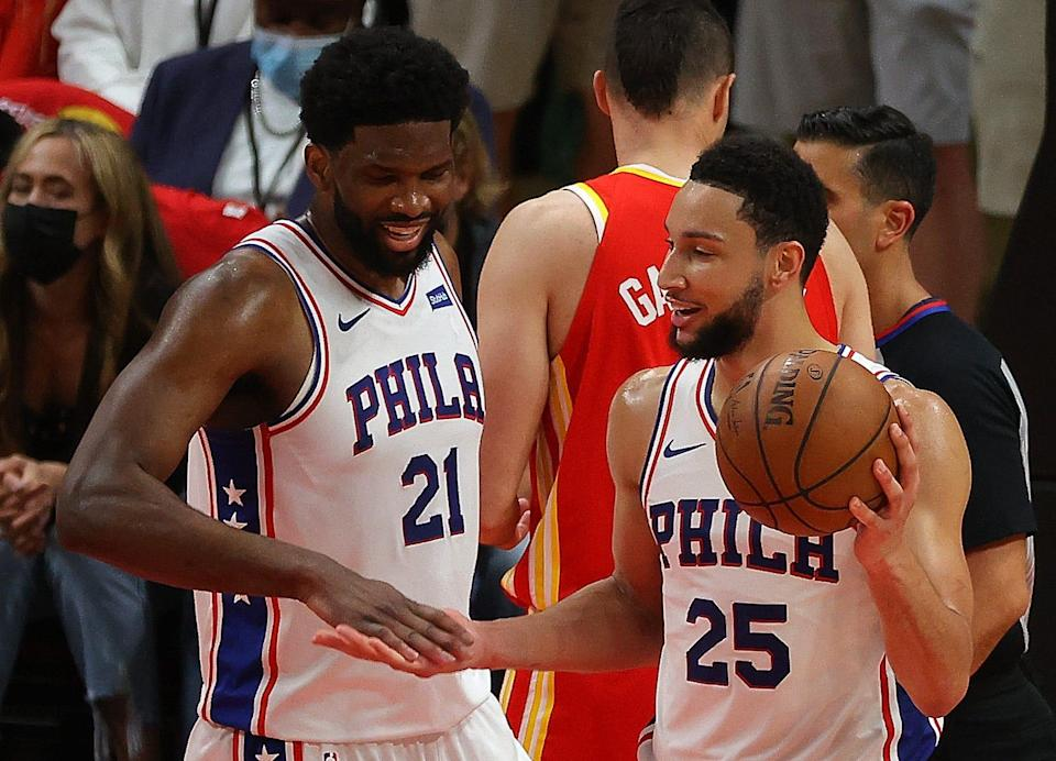 The dynamic between Ben Simmons (25) and Joel Embiid (21) became untenable, which could be one of the main reasons why Simmons said he will wants a trade from Philadelphia.