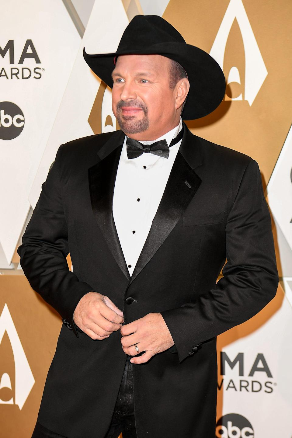 Garth Brooks, seen here on the red carpet at the 53rd annual CMA Awards in 2019, will perform at President-elect Joe Biden's inauguration on Wednesday.