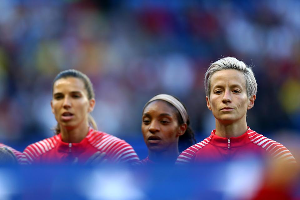 The USWNT lost Friday in court, but it wasn't necessarily a win for U.S. Soccer either. (Photo by Maddie Meyer - FIFA/FIFA via Getty Images)
