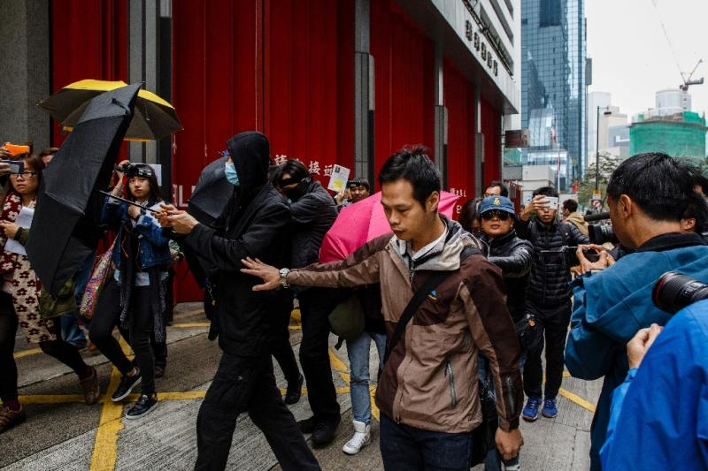 """Supporters of three Hong Kong protestors jailed over the """"fishball riots"""" say they will protest on the day of the city's leadership selection"""
