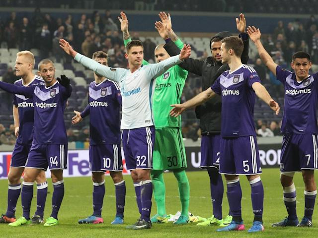 Anderlecht boast a formidable record at the Constant Vanden Stock