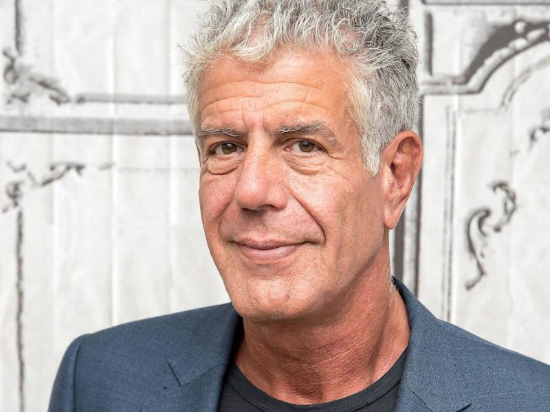 Anthony Bourdain's Custom Knife and Other Personal Items Are Going Up For Auction
