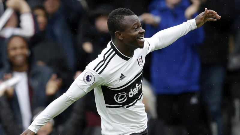 Fulham's Jean Michael Seri's stunner against Burnley shortlisted for Premier League Goal of the Season