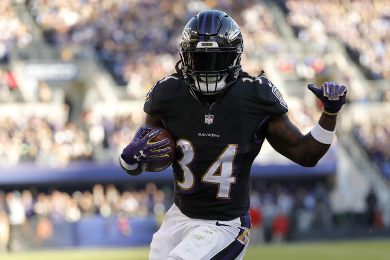 Alex Collins was released from the Ravens in March after his arrest near the team facility. He pled guilty to two misdemeanor charges last month.