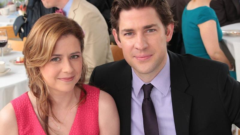 'The Office' Stars John Krasinski and Jenna Fischer Are Feuding Over the Stanley Cup Finals