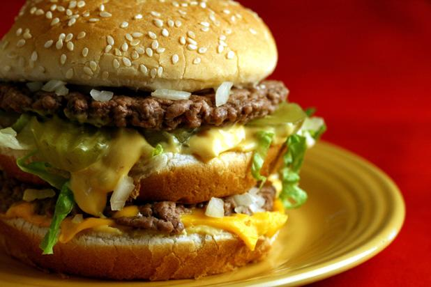 Biggest Loser Almost Fast Food Burger