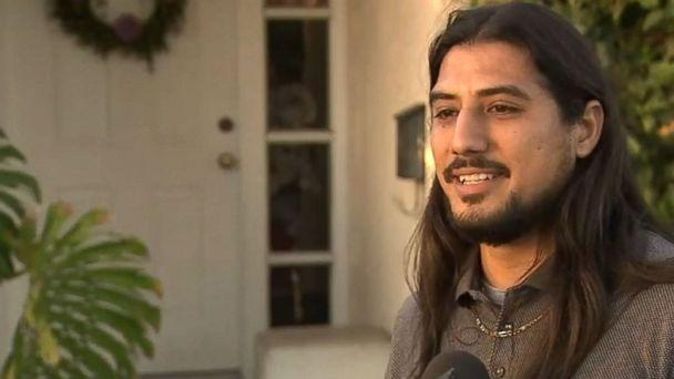 PHOTO: Luis Garcia said ICE arrested his father without a warrant on Sunday. (KABC )