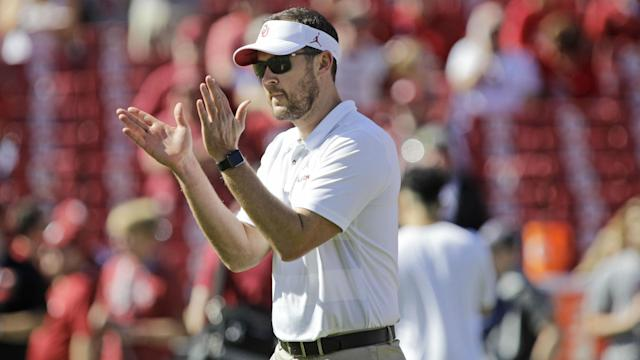 Lincoln Riley, 35, has extended his contract with Oklahoma amid interest from teams in the NFL.