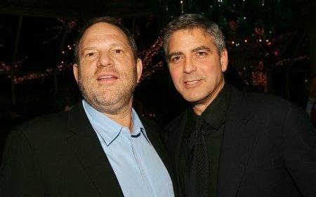 George Clooney said he had 'never' been aware of the extent of the claims against Weinstein - Credit: Getty