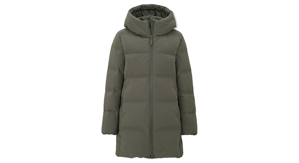 Women's Seamless Down Short Coat