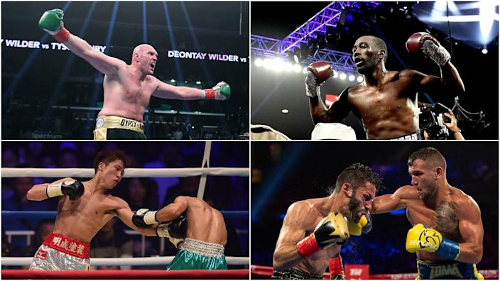 Tyson Fury, Terence Crawford, Naoya Inoue, and Vasyl Lomachenko are four Top Rank athletes, all of whom are featured in Business Insider's list of the 15 best boxers in the world.