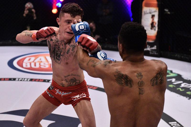 The Tyrone fighter insists he will never be fully accepted in MMA. (Bellator)