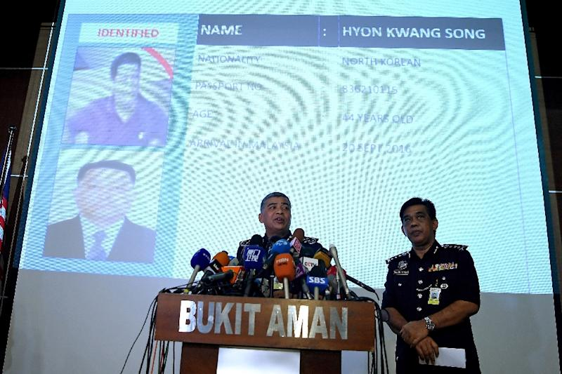 Malaysian police would like to question North Korean diplomat Hyon Kwang Song in their investigation of the murder of the half-brother of North Korean leader (AFP Photo/Manan VATSYAYANA)