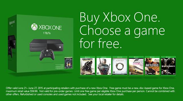 Buy an Xbox One and Get Any Game for Free – Here's What You Need to Know