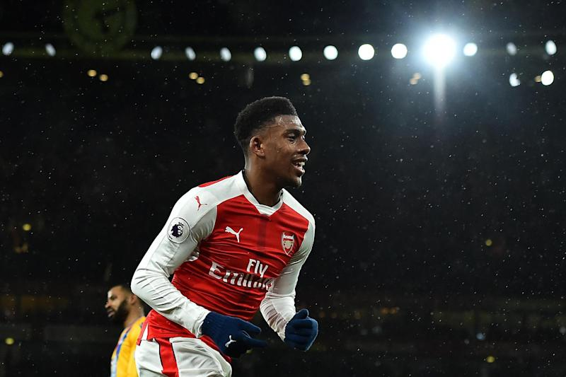 Iwobi has struggled to establish himself in the Arsenal side over recent weeks: AFP/Getty Images